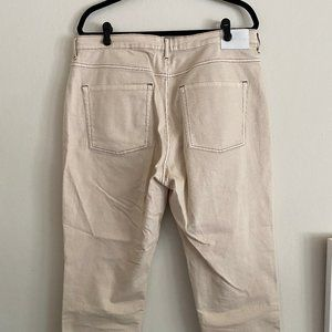 Everlane The Cheeky Straight Jean in Sandstone